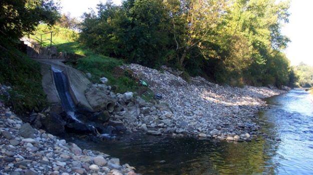 Iztok očiščene odpadne vode v reko Savo.